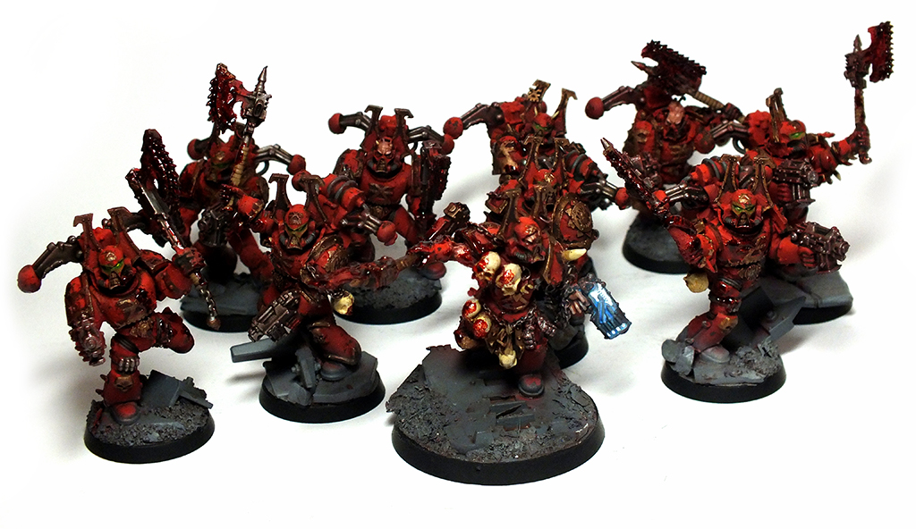 Khorne Berzerkers Commission