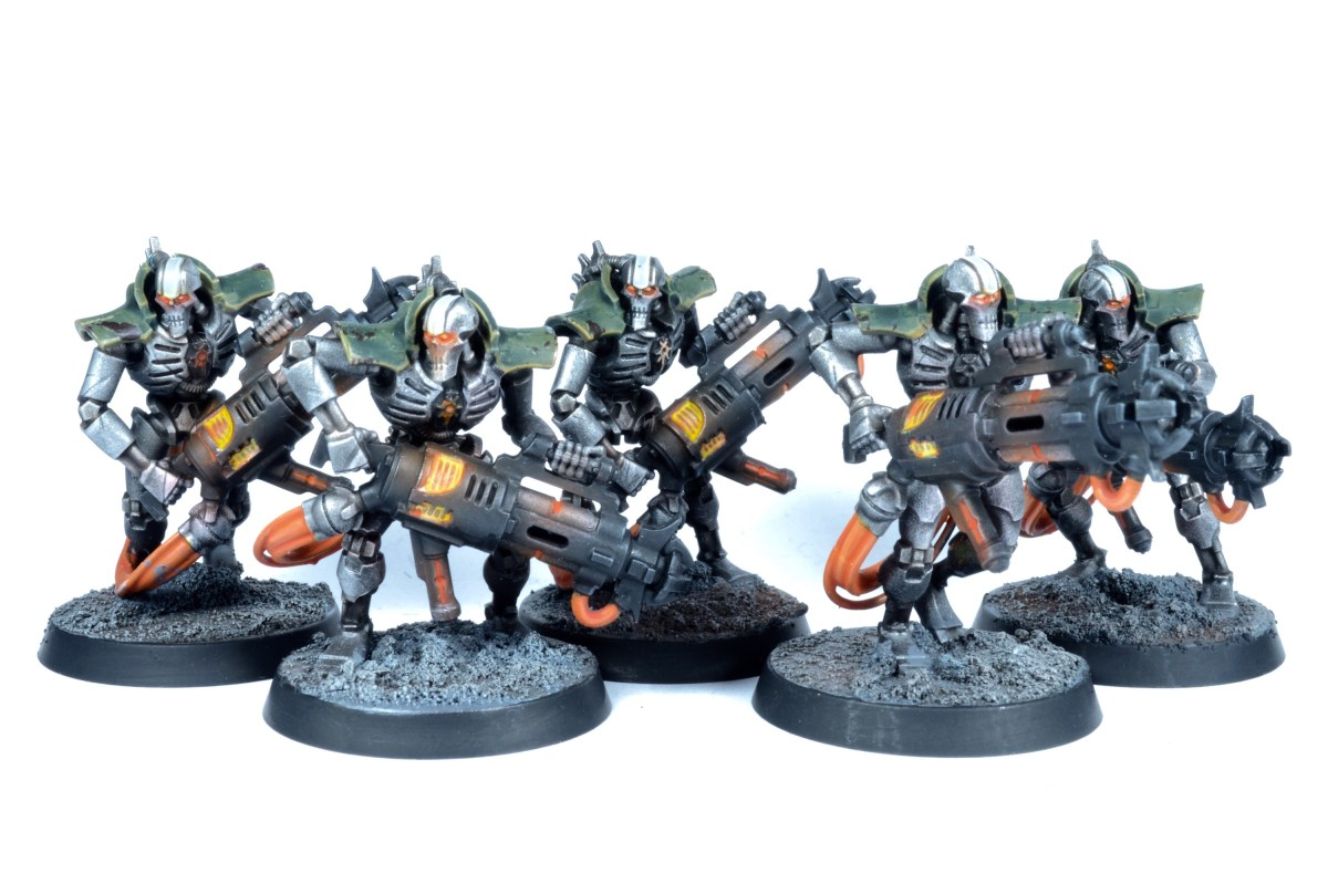 Necrons of the Mephrit Dynasty Showcase