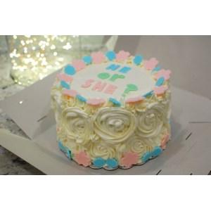 Innovative Now Ombr Or Baby Shower Gender Reveal Cake Degree Gender Reveal Cake Ideas Diy Thanksgiving Gender Reveal Cake Ideas