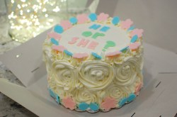 Innovative Now Ombr Or Baby Shower Gender Reveal Cake Degree Gender Reveal Cake Ideas Diy Thanksgiving Gender Reveal Cake Ideas