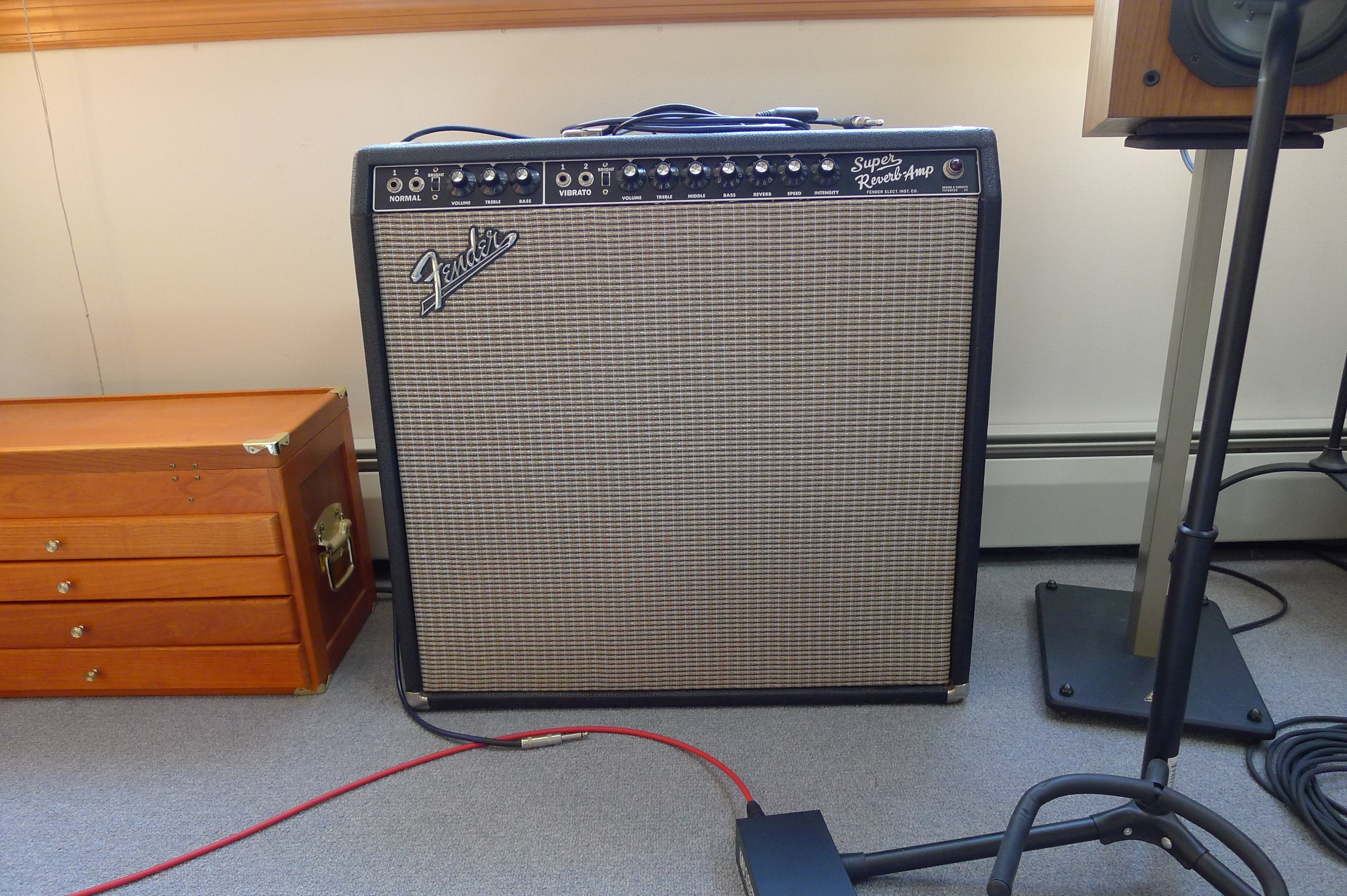 1968 Fender Super Reverb The Classic 4 X 10 Air Cannon Amp Has Been Completely Gone Over By Our Resident Guru Mark Howson