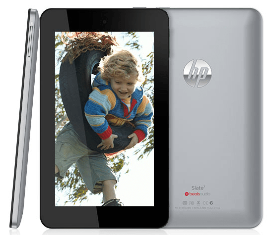 HP Slate 7 Tablet Announced – Specifications Price & Features