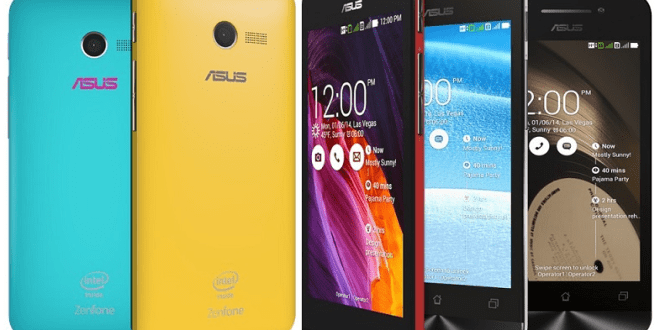 Asus Zenfone Series Smartphones To be Available from 9th July 2014