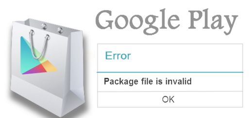 Package File is invalid Android
