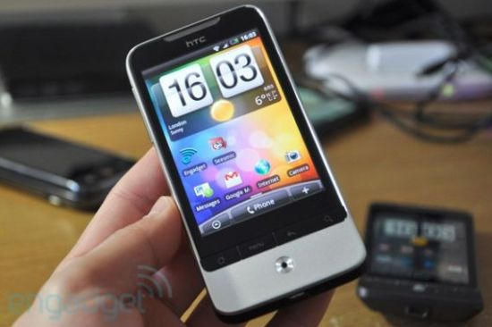 HTC Desire with US 3G
