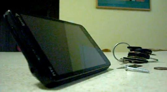 HTC EVO 4G Screen Scratch Test
