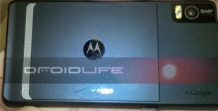 Motorola Droid 2 back view