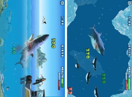Hungry Shark Free cool arcade game