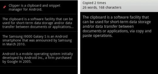Clipboard Android App