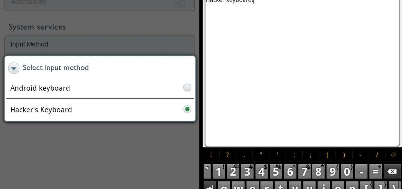 Alternative keyboard Nook Color
