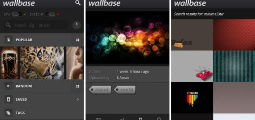 Wallbase HD Wallpapers Android App