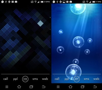 Download Galaxy S3 Live Wallpapers: Deep Sea and Luminous Dots