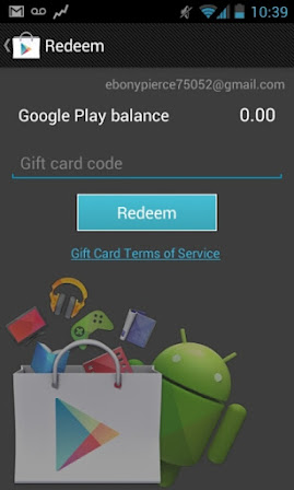 Google Play Store 3.8.17 Redeem Code