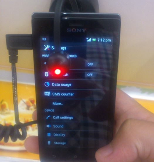 Xperia SMS counter