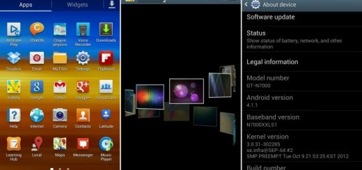 Galaxy Note Jelly Bean firmware update XXLS2