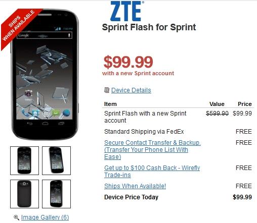 Sprint-ZTE-Flash-price-Wirefly
