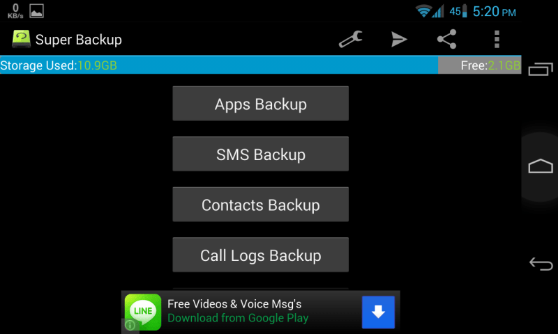 Super Backup SMS and Contacts