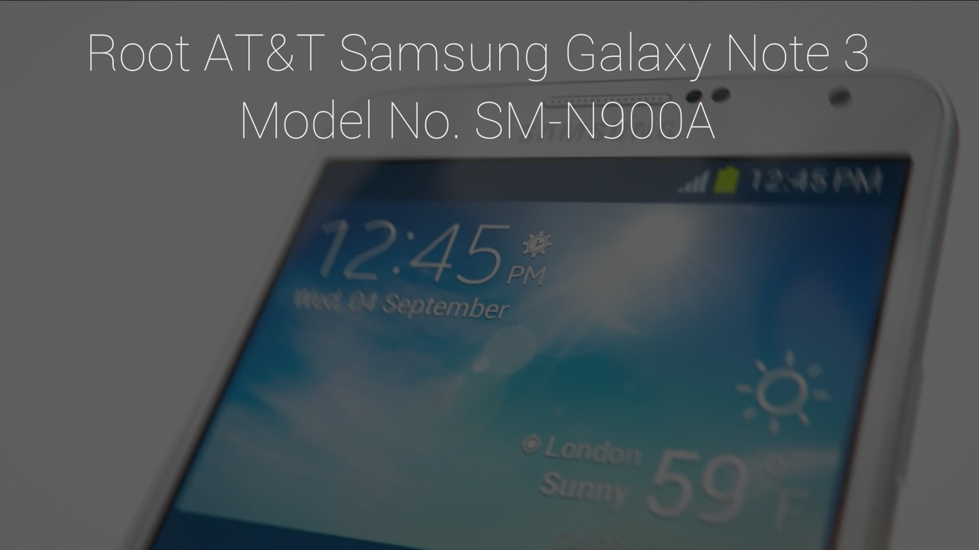 AT&T Galaxy Note 3