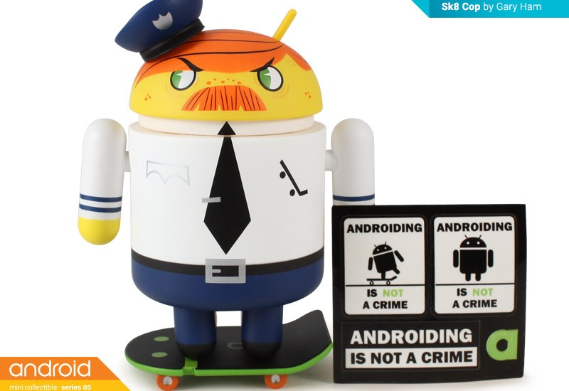 Sk8 Cop Android Collectible