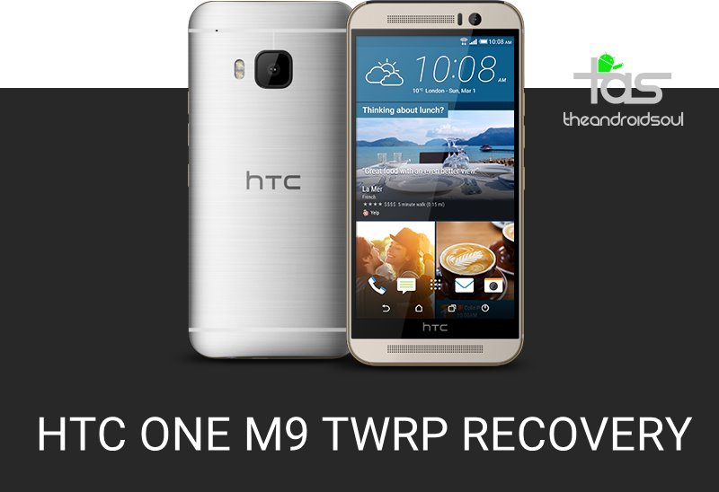 HTC One M9 TWRP Recovery