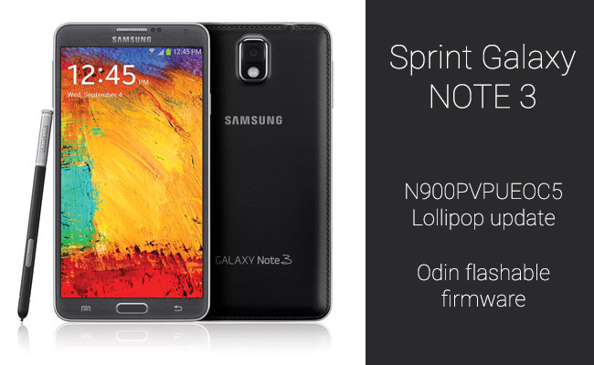 Sprint-Note-3-Lollipop-update-odin-firmware
