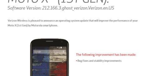 Verizon Moto X Update