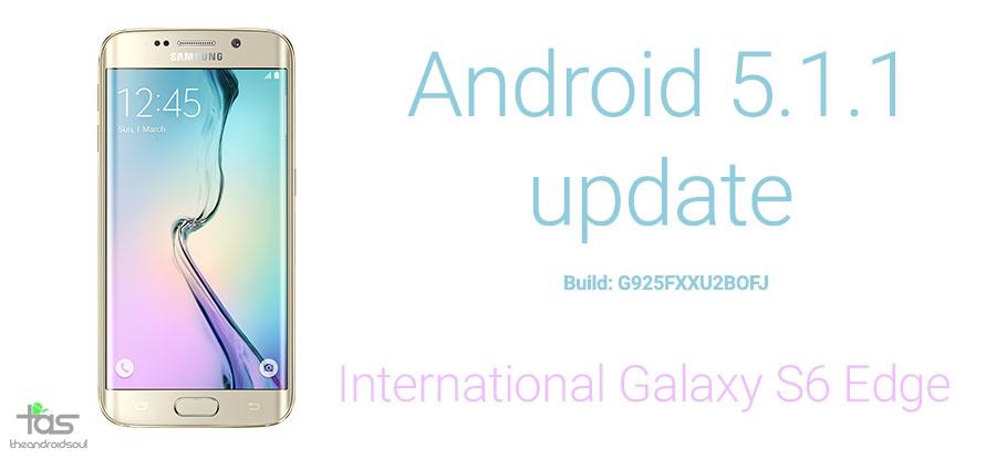 Galaxy S6 Edge 5.1 Update