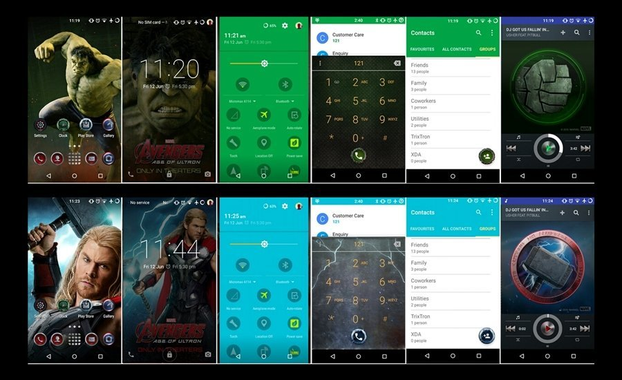 Galaxy S6 theme for CM Theme Engine