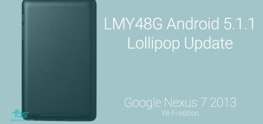 Nexus 7 2013 5.1.1 update