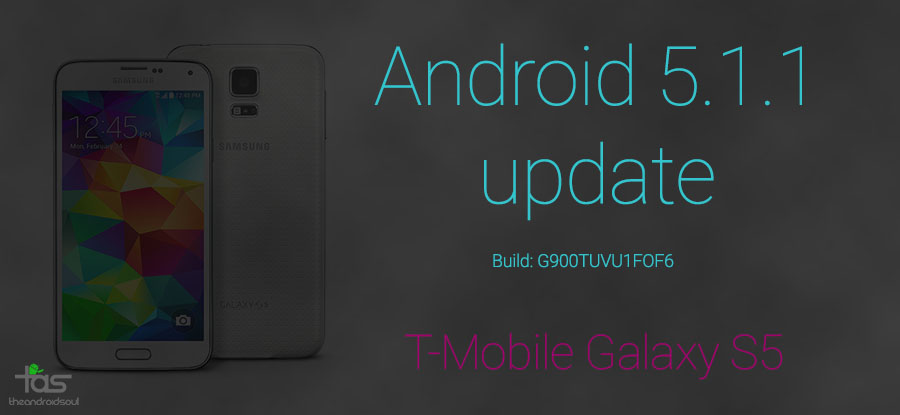 t-mobile galaxy s5 5.1.1 update