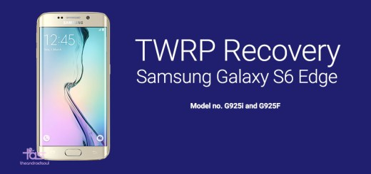 twrp recovery android 5.1 galaxy s6 edge