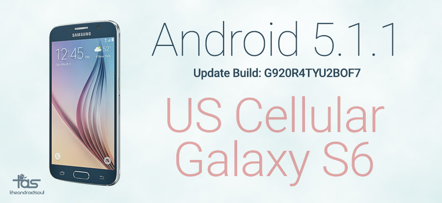 us cellular galaxy s6 5.1 update of7