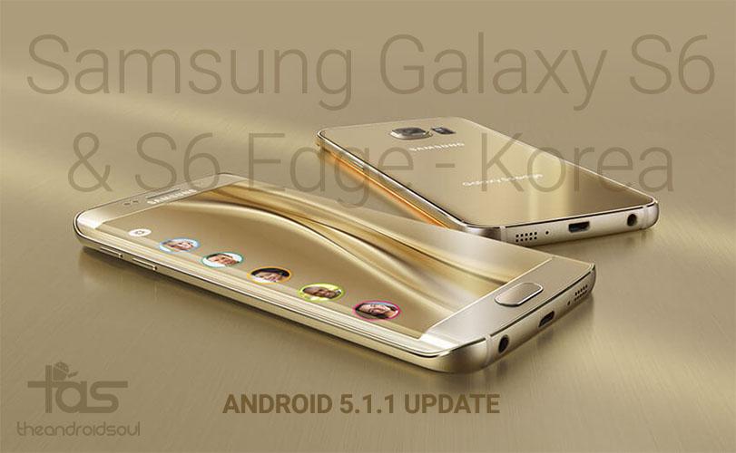 5.1.1 update s6 korea