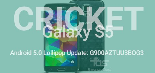 Cricket Galaxy S5 Lollipop Update
