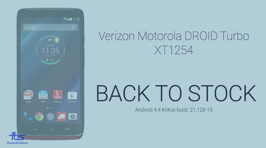 Droid Turbo Back To Stock KitKat