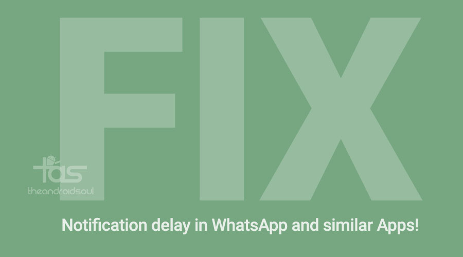 Fix whatsapp notification delay