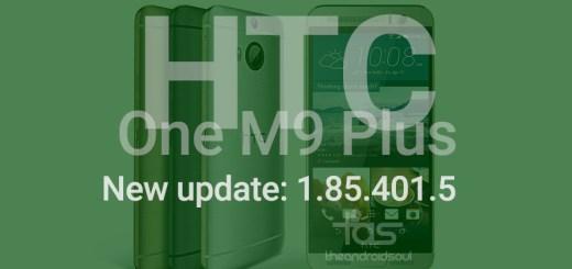 HTC One M9 Plus OTA Update