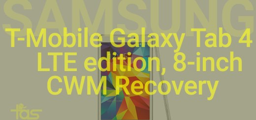 T-Mobile Tab 4 LTE CWM recovery