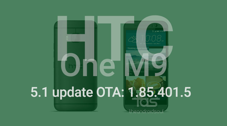 htc one m9 android 5.1 ota update