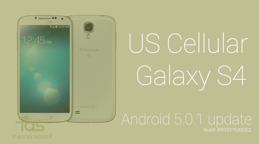 us cellular galaxy s4 Android 5.0 update