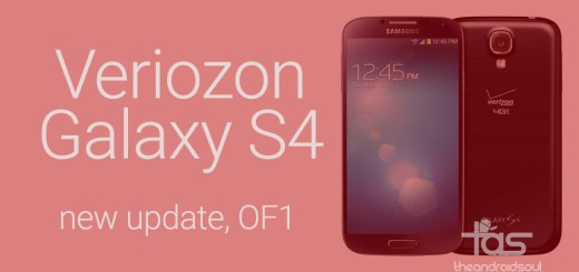 Verizon Galaxy S4 Update