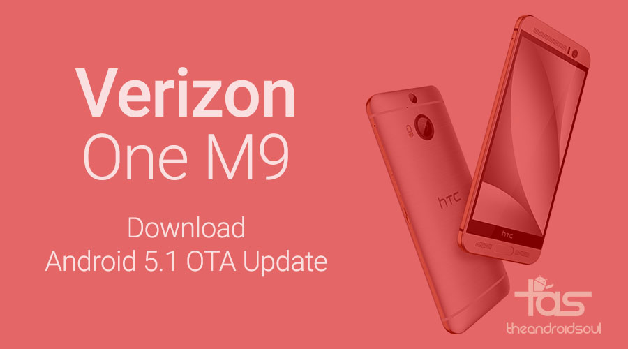 download 5.1 ota update verizon htc one m9