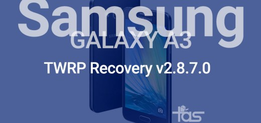 galaxy a3 twrp recovery