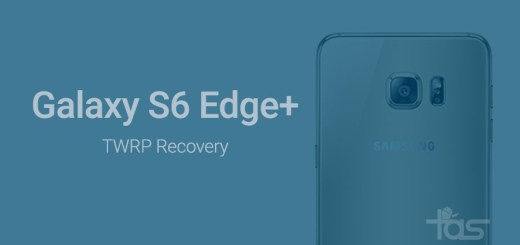 twrp recovery Galaxy S6 Edge plus