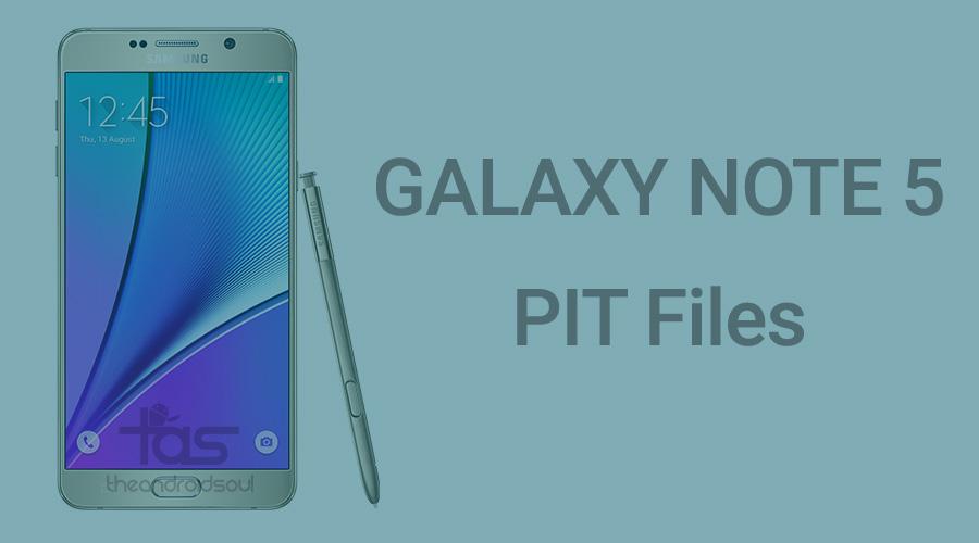 Galaxy Note 5 PIT file
