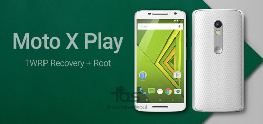 Moto X Play root twrp recovery