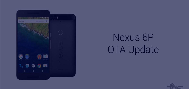nexus 6p ota update release