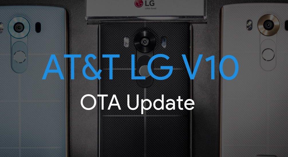 AT&T LG V10 OTA Update