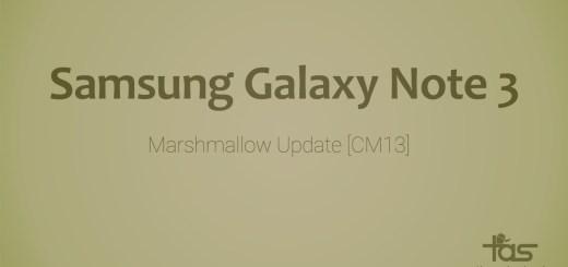 Galaxy Note 3 CM13