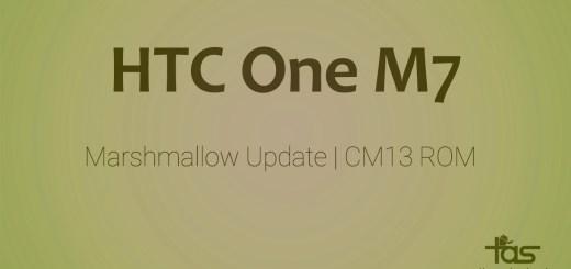 HTC One M7 CM13